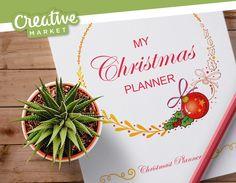 """@Behance projeme göz atın: """"Christmas Planner"""" https://www.behance.net/gallery/44973981/Christmas-Planner"""