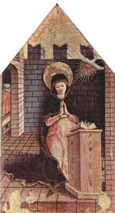 Virgin Annunciation - Carlo Crivelli