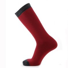 Horizon Ego Luxury Merino Wool Ski Tube Socks offers an excellent level of comfort and warmth thanks to the full cushioning throughout and the use of merino wool making Tube Socks, Merino Wool, Skiing, Red, Fashion, Ski, Moda, Socks, Fashion Styles