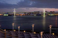 Harumi-Futo, Tokyo Port - 晴海埠頭・レインボーブリッジ