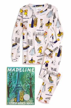 A perfect gift for making cozy memories together, this darling set includes soft, fitted pajamas themed to match the included hardcover storybook, Madeline.