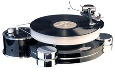 Although a complete waste of money, this is still a cool design for a turntable.