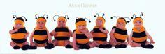 Bumblebee Babies Art Print