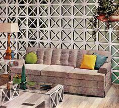 "The Grey Room. ""Better Homes & Gardens"" October 1960"