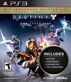 Destiny The Taken King  Legendary Edition  PlayStation 3 *** Click image for more details. Note:It is Affiliate Link to Amazon.