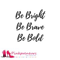 Pinkpreneurs creates virtual and in person opportunities for entrepreneurial women to collaborate and build relationship to succeed and prosper in business. Girl Boss, The Help, Confidence, Motivational Quotes, Encouragement, Self, Logo Design, Love You, Positivity