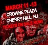 Monster-Mania Con Horror convention/ Semi-annual Philadelphia horror film and memorabilia convention