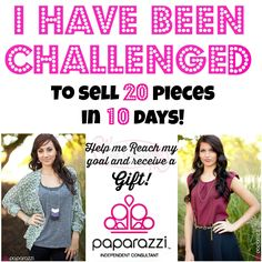 I've been Challenge to sell 20 Paparazzi Pieces in 10 days! Would you help me? Paparazzi Display, Paparazzi Jewelry Displays, Paparazzi Accessories, Paparazzi Jewelry Images, Paparazzi Photos, Paparazzi Logo, Jewelry Closet, Paparazzi Consultant, New Clip
