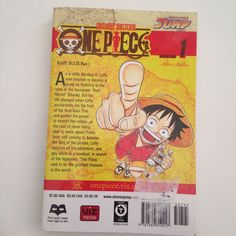 Shonen Jump Manga One Piece East Blue Volume 1 Eiichiro Oda TPB Viz Media for sale online Manga English, Viz Media, One Piece, Blue, Ebay