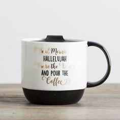 Good Morning - Jumbo Mug with Adjustable Lid