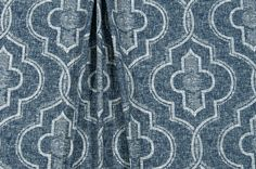 Designer Textured Stitch Fabric by the Yard Indigo Blues Cotton Drapery Fabric Curtain Fabric Upholstery Fabric Blue Home Decor Fabric B513