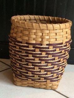 Step on Up Utensil basket by BasketWeavingSupplie on Etsy, $25.00