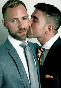 ❤♂Just Gay Couples♂❤ ❤Lovehouse❤ Cute Gay Couples, Couples In Love, Lgbt Couples, Art Masculin, Men Kissing, Photo Couple, Raining Men, Gay Men, Man In Love
