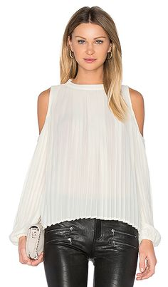 Shop for BLAQUE LABEL Pleated Blouse in Creme at REVOLVE. Free 2-3 day shipping and returns, 30 day price match guarantee.
