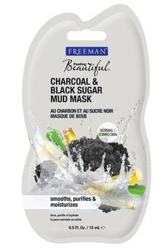 """What it is: A detoxifying mud mask What it does: Activated charcoal gently absorbs oil and impurities while black sugar brightens and exfoliates dull skin. What our tester said: """"The mask went on a lot thicker than I thought it would but that actually made it easy to apply. I left it on for about 15 minutes (the packaging didn't say how long to leave it on for) but as the mask dried, it got itchy and a little uncomfortable. Once I rinsed it off though, my skin instantly felt so much…"""
