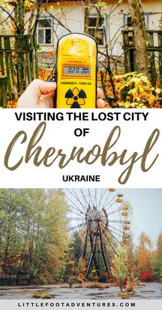 My visit to the lost city - Chernobyl was both interesting and sad. I learned what happened in the disaster and the consequences of radiation exposure. Read more at www.littlefootadventures.com Chernobyl | Ukraine | Radiation | Disaster | Radiation Disaster #Chernobyl #Radiation #ukraine #Accident #chernobyl #travelblog