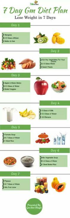 Gm Diet Chart Find The Gm Diet Plan Pdf Printable Version Free