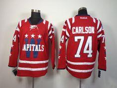 Washington Capitals 74 John CARLSON 2015 Winter Classic Jersey - Red  Washington  Capitals Hockey Jerseys 062  -  40.95   Cheap Hockey Jerseys 0bc451eac