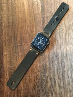 Apple Watch Band-Olive Green Horween™ Chromexcel™ Leather