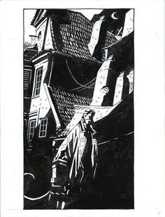 Hellboy Prague Sketchbook 1 Comic Art
