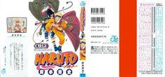 Manga cover by Kishimoto Masashi.