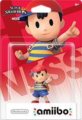 Ness Amiibo Super Smash Bros