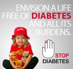 Great thought...thinking of my sister and everyone who has diabetes.