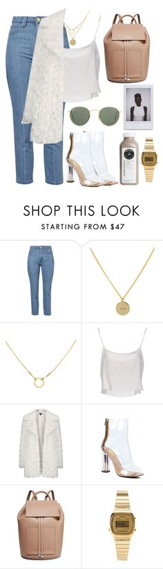 """""""🤙🏼"""" by burcaak ❤ liked on Polyvore featuring Topshop, Anna + Nina, Dogeared, Jean-Paul Gaultier, Michael Kors, Casio, Ray-Ban, StreetStyle and fur"""