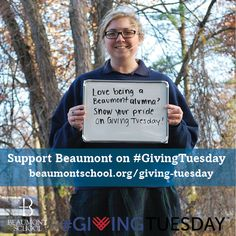Calling all Beaumont alumnae! We know you love being a Beaumonster - show your pride this #GivingTuesday! We are looking for 327 donations to match the 327 girls that currently attend Beaumont. Click through to make your gift and to learn more.