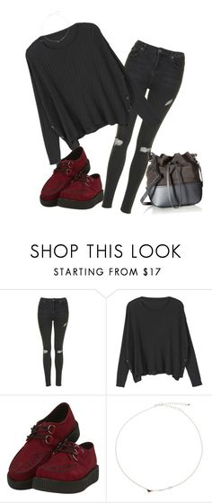 """Untitled #769"" by akts on Polyvore featuring Topshop, MANGO, T.U.K., John Lewis and ZAC Zac Posen"