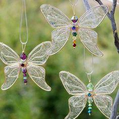 Swarovski Crystal Butterfly Sun Catchers