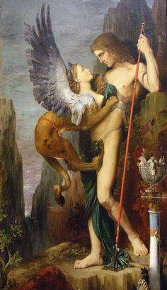 oedipus and the sfynx_moreau