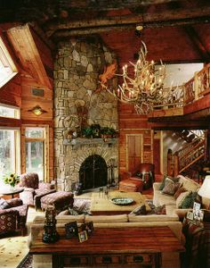 Cabin Style On Pinterest Cabin Cabin Decorating And Log Cabins