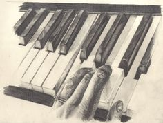 Pix For > Playing Piano Sketch