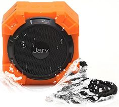Jarv X96 Water Proof Bluetooth Portable Speaker- Rugged for Outdoor or Shower use- with X BASS Passi... #deals