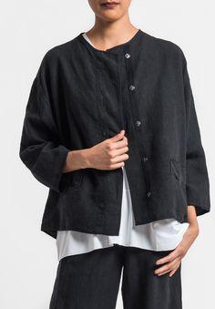 Oska - Linen Talida jacket