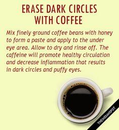 Caffeine Coffee Mask for Dark Circles: