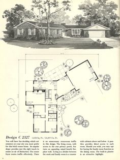Mid Century House Plans Best Of Vintage House Plans Mid Century Homes Houses Design Pole Barn House Plans, Bungalow House Plans, Ranch House Plans, Best House Plans, Modern House Plans, Small House Plans, House Floor Plans, Modern Courtyard, Courtyard House Plans