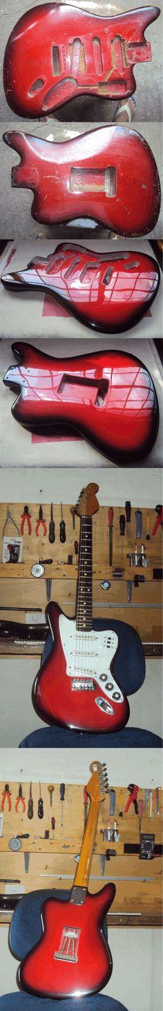 Guitarra Giannini Antiga 2ª Reforma Geral Ok -  Oficina das Guitarras Mozart