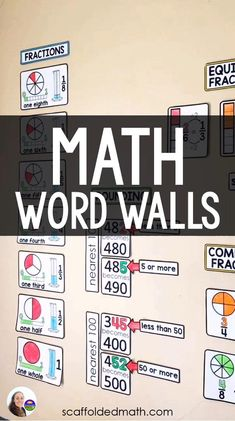 4th Grade Classroom Setup, Math Classroom Decorations, Middle School Classroom, Classroom Word Wall, High School, Quotes For The Classroom, Primary Classroom, Future Classroom, Math Bulletin Boards