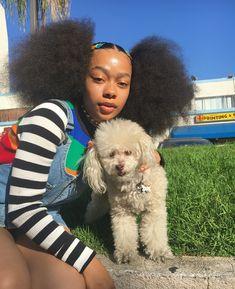 Baddie Hairstyles, Black Girls Hairstyles, Cute Hairstyles, Danse Twerk, Cabello Afro Natural, Curly Hair Styles, Natural Hair Styles, Type 4 Hair, Beautiful Black Girl