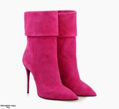 GIUSEPPE ZANOTTI Pink Booties Fall 2014 | Shoes CH