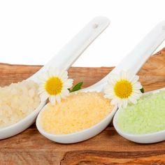 Badezusätze - Rezept zum selber machen für Basischer Badezusatz