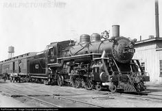 RailPictures.Net Photo: WAB 621 Wabash Steam 4-4-2 at Decatur, Illinois by silverrailsgallery.com
