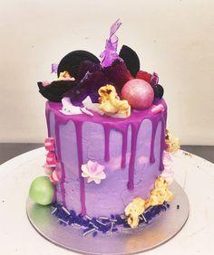 Mini choc raspberry dressed in all the purples for Lisa!