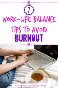 Hey Working Women, Work-At-Home Moms, Stay-At-Home-Moms, and Working Moms. Work-life balance tips are critical to your emotional and physicial health. Work Life Balance Tips, Working Mom Tips, Working Mums, Time Management Skills, Stress Management, Burn Out, Physically And Mentally, Mom Advice, Work From Home Moms