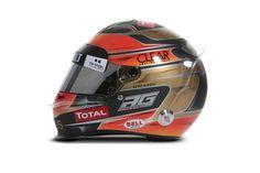 F1 Helmet 2012 Romain Grosjean (Lotus F1 Team)