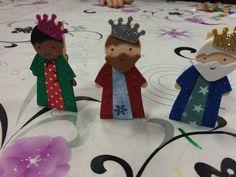 Los tres Reyes Magos. Se armó el Belén. Navidad 2015-16