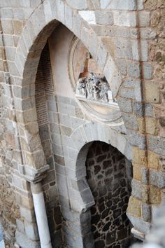 Mirando a la Puerta del Sol... de Toledo.