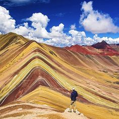 discoversouthamericaWho else has been to the 'Rainbow in the Mountain' - Vinicunca, Peru?